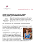 International Wine Review Blog