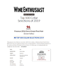 2016 Gloria Estate Pinot Noir Awarded