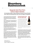 Burgundy-Style Pinot Noirs Come of Age in Sonoma Freeman Sonoma Coast Pinot Noir 2007 cover