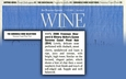 The Chronicle Wine Selections cover