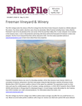 Sips of Recently Tasted California Pinot Noir  Freeman Vineyard & Winery cover