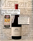 Top 100 Wines 2010 From small labels, big flavors come cover