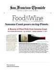 A Bounty of Pinot Picks from Sonoma Coast, 2009 Freeman Sonoma Coast Pinot Noir cover