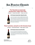 The Chronicle recommends: Russian River Valley Pinot Noir