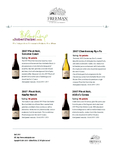 Robert Parker: 92 pts for the Ryo Fu and 90 pts for Freeman Pinot Noirs cover