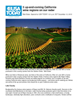 5 up-and-coming California wine regions on our radar cover