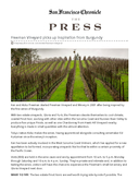 Freeman Vineyard picks up inspiration from Burgundy cover