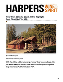 Freeman Wines Featured in UK's Harpers Wine & Spirit: New West Sonoma Coast AVA to highlight 'best Pinot Noir' in USA cover