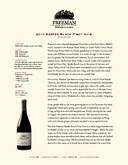 2010 Keefer Ranch Pinot Noir cover