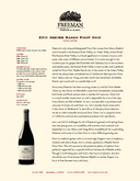 2011 Keefer Ranch Pinot Noir cover