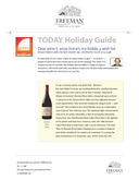 TODAY Holiday Guide cover