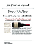 A Bounty of Pinot Picks from Sonoma Coast, 2009 Freeman Sonoma Coast Pinot Noir cover