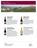 Steve Tanzer's International Wine Cellar PDF: 92 pts for Akiko's Cuvee and Keefer Ranch cover