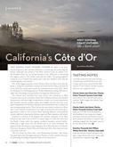 "The 2012 Pinot Noir, Sonoma Coast Featured in ""California's Côte d'Or"" cover"