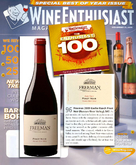 The Wine Enthusiast 100 The Most Coveted Wines of 2010 cover