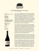 2009 Keefer Ranch Pinot Noir cover