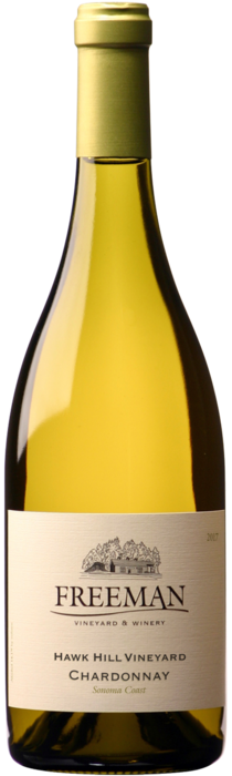 2018 Hawk Hill Chardonnay bottle shot