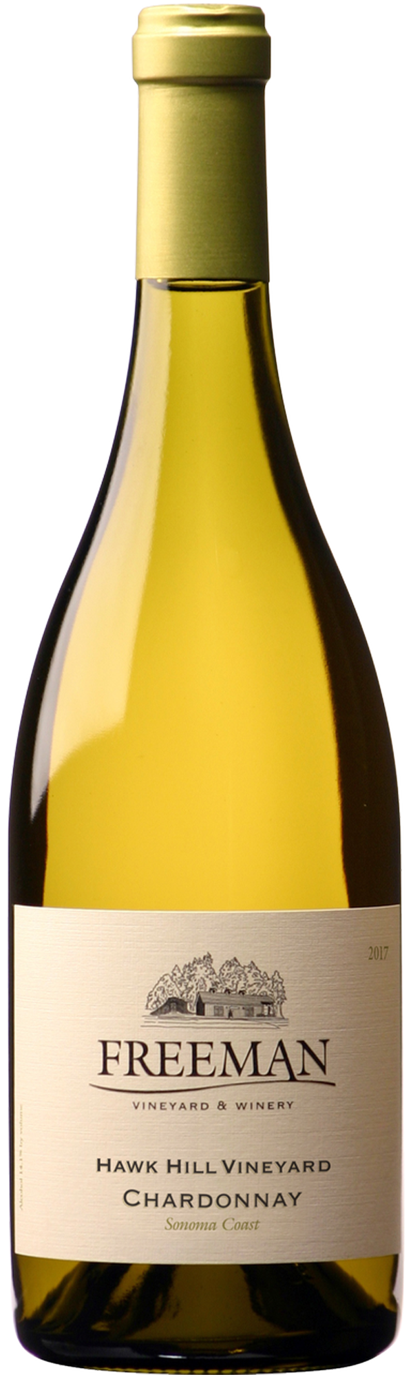 Hawk Hill Chardonnay bottle shot