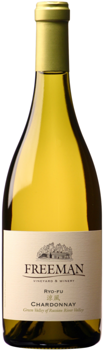 2018 Ryo-fu Chardonnay bottle shot
